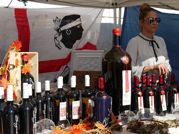 Und noch ein kleiner Weinbaubetrieb mit seinen Produkten
