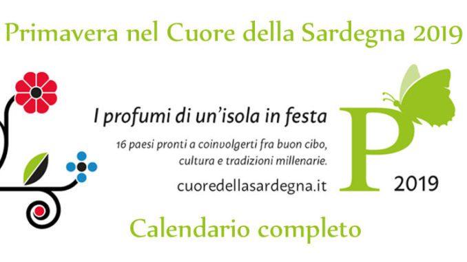 Primavera Sulcitana 2020 Calendario.Primavera Nel Cuore Della Sardegna 2019 16 Fruhlingsfeste