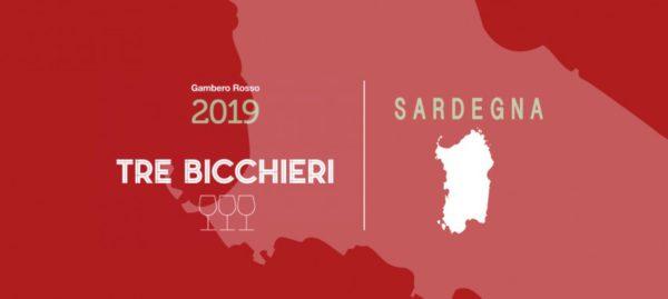 """Weinführer Gambero rosso 2019 – 13 mal """"Tre Bicchieri"""" (drei Gläser) für sardische Weine"""