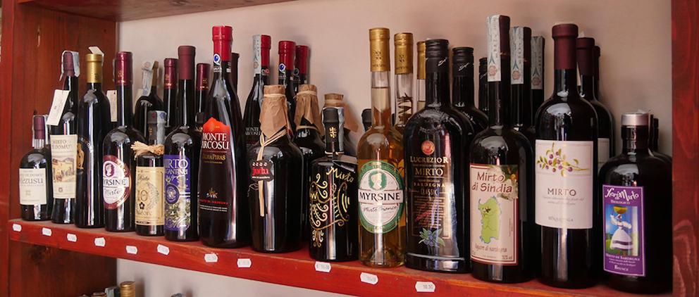 Mirto di Sardegna gibt es inheute von sehr vielen Anbietern