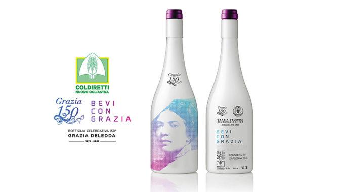 Jubiläumsflasche Grazia Deledda