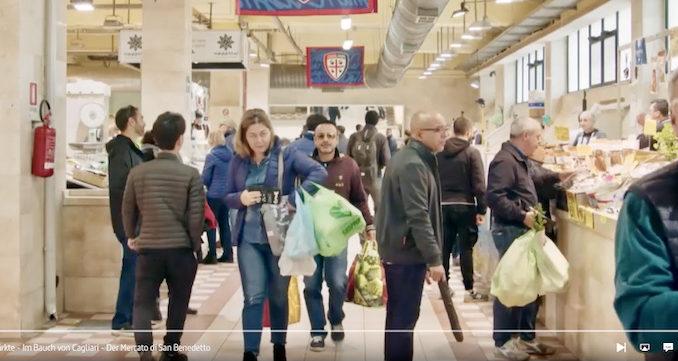 Impressionen im Film über den Mercato di San Benedetto