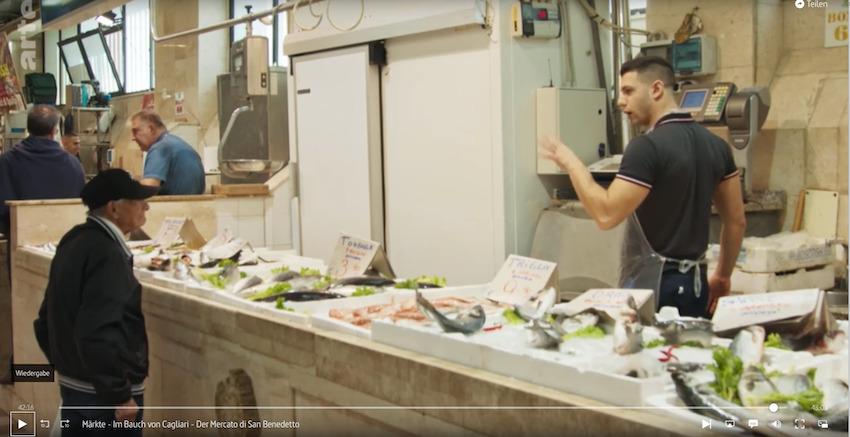 Markt von Benedetto / Film über den  Mercato di Benedetto