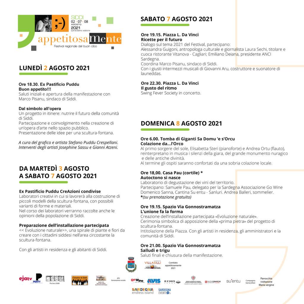 Festival appetitosaMente 2021
