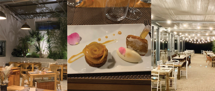 hochmoderne Restaurant Ros'e Mari